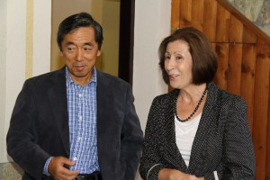 His Excellency Mr. Toshimitsu Ishigure, with his wife
